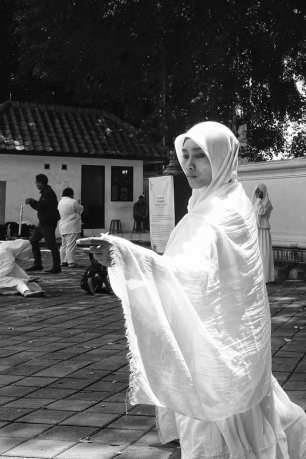 ON DISPLAY YOGYAKARTA - Installation by Heidi Latsky